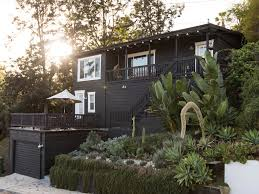 Los Angeles Times Home And Design New On The Block The Little Black House The New York Times