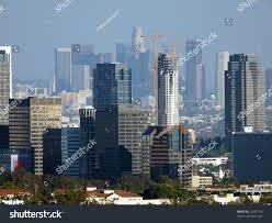 Tel Aviv Future Skyline Century City Downtown Los Angeles Form Stock Photo 23287576