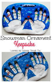 salt dough snowman keepsake for to make salt dough