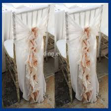 Cheap Universal Chair Covers Ch001k Popular Fancy Curly Willow Ruffled Cheap Universal Wedding