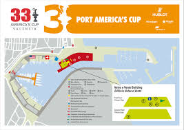 Valencia Spain Map by Port America U0027s Cup Opens Saturday In Valencia Spain Challenge