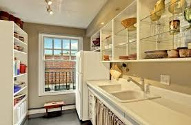 Used Kitchen Cabinets Denver by Glass Front Kitchen Cabinets Set In A Wooden Frame Cabinets
