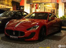gran turismo maserati red maserati granturismo mc stradale 16 march 2017 autogespot