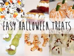 easy halloween food