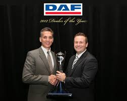 paccar truck sales paccar trucks melbourne crowned daf dealer of the year 2012
