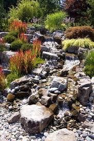 Rustic Landscaping Ideas by Best 25 Waterfall Fountain Ideas Only On Pinterest Garden