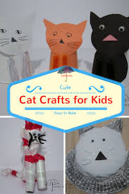 cat crafts for kids an afternoon of fun