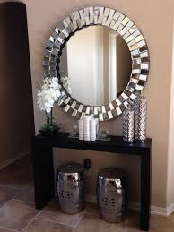 wall mirror with table 48 beautiful decoration also mirror