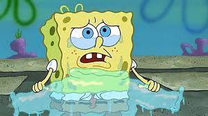 spongebob tear sweater that squidward made spongebob so angry that he didn t like