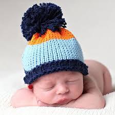 pom pom precious knit baby hat beanie designs