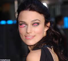 keira knightley with mouth eyes pictures freaking news