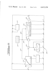 patent us4412158 speed control circuit for an electric power