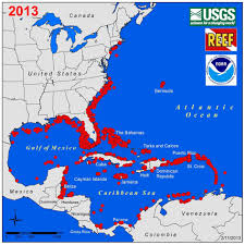 Caribbean Ocean Map by Vulnerability Of The Caribbean Region To Lionfish Invasion Car