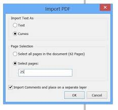 corel draw x6 has switched to viewer mode import pdf file in coreldraw x6 showing boxes instead of characters