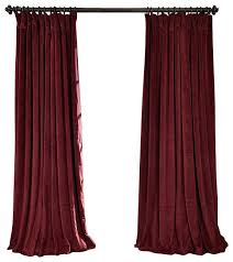 Burgundy Velvet Curtains Captivating Burgundy Velvet Curtains Ideas With Signature Burgundy