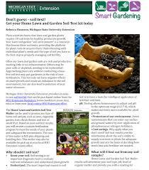 Garden Soil Types - don u0027t guess soil test get your home lawn and garden soil test