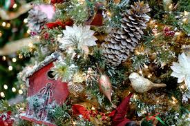 christmas themed post with photos from the festival of trees dav