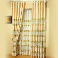 Thermal Energy Curtains High End Gorgeous Embroidery Thermal Energy Curtains