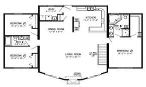 open floor plans log home with single story cabin modular homes