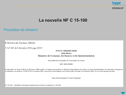 norme nfc 15 100 cuisine norme nfc 15 100 cuisine affordable description de la salle de