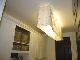 Fluorescent Kitchen Lighting by Kitchen Lighting Fluorescent Light Covers Drum Brass French