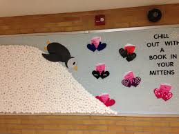 my winter bulletin board january 2016 penguin is stuffed with