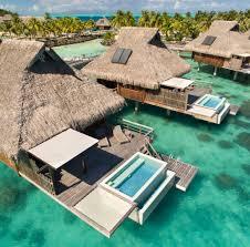 get a sneak peek of bora bora u0027s newest overwater bungalow resort