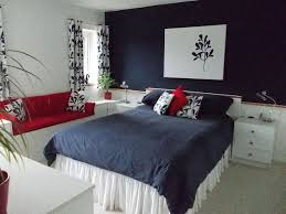 blue and red bedroom ideas bedroom makeover in navy blue white and red hometalk