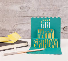 how to make a simple pop up birthday card simple pop up cards