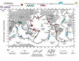 Plate Tectonics Map Ihsl Shahzod Saydaliev