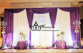 wedding backdrop prices cheap price wedding backdrop curtain white purple color in window