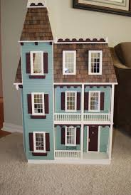 Dormer Windows Images Ideas Sweet Dollhouse For Kid Room Feat Blue Wooden Wall Material And