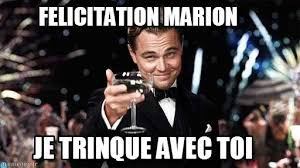 felicitation marion congratulations meme on memegen