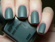 matte grey bys nail colors i wanna try pinterest grey