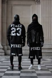 pyrex clothing pyrex vision kanye chion sport hip hop ventilate unisex