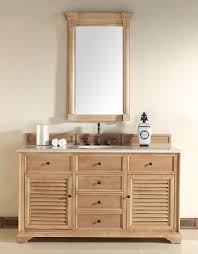 Unfinished Bathroom Furniture Unfinished Solid Wood Bathroom Vanities From Martin Furniture