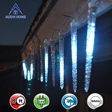 alion home shooting 112 count led icicle lights