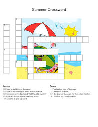 Free Printable Halloween Crossword Puzzles Very Easy Crossword Puzzles For Kids Activity Shelter