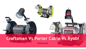 Ryobi Bench Grinder Price Craftsman Vs Porter Cable Vs Ryobi Which 8 Inch Bench Grinders