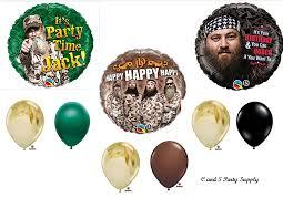 amazon com duck dynasty camouflage happy birthday party balloons
