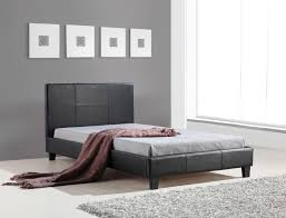 King Single Bed Linen - king single linen fabric bed frame grey