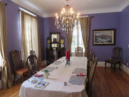 a few days in rival territory bama bed and breakfast dining room complete with houndstooth placemats