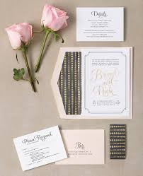 Foil Wedding Invitations Fabulous Gold Foil Wedding Invitations