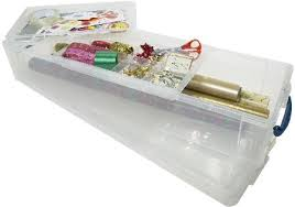wrapping paper box gift wrap storage box co uk kitchen home