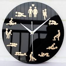 wedding gofts innovation household living room culture wall clocks unique