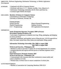 Software Engineer Resume Example Software Engineer Resume Example Resume Examples And Software