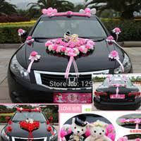 Wedding Car Decorations Wedding Car Decoration With Flowers Price Comparison Buy
