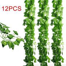 greenery garland 12pcs set artificial greenery vine leaves garland hanging