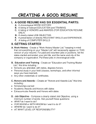 How To Do A Resume For A Job How To Create A Job Resume Free Resume Example And Writing Download