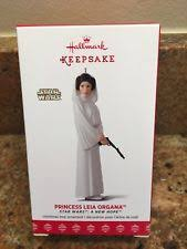 wars princess leia organa hallmark keepsake ornament 2017 ebay